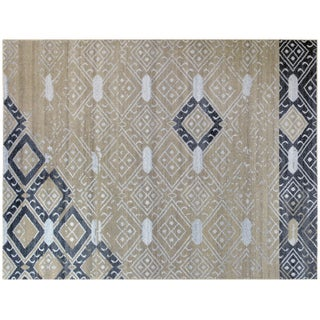 Moroccan Inspired Grey Rug - 4′ × 6′
