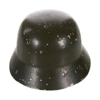 WW II Miniature German Helmet M1943 With Double Decal