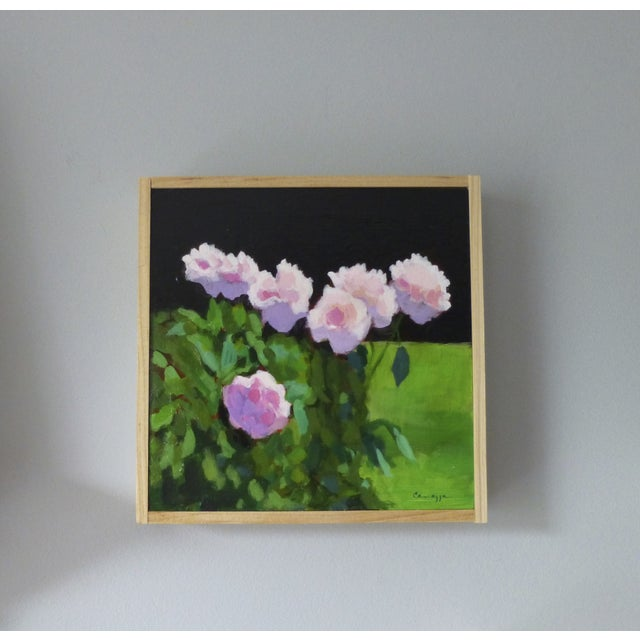 "Image of Anne Carrozza Remick Original Painting ""Peonies"""
