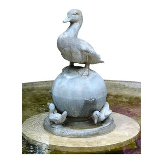Duck garden fountain