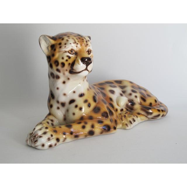 Capodimonte Ceramic Jaguar - Image 3 of 11