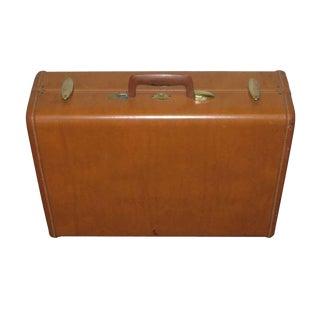 Vintage Samsonite Leather Suitcase