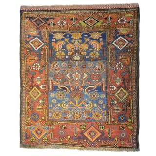 Stunning Early 20th Century Kurdish Rug