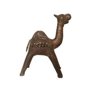Pierced Brass Alpaca