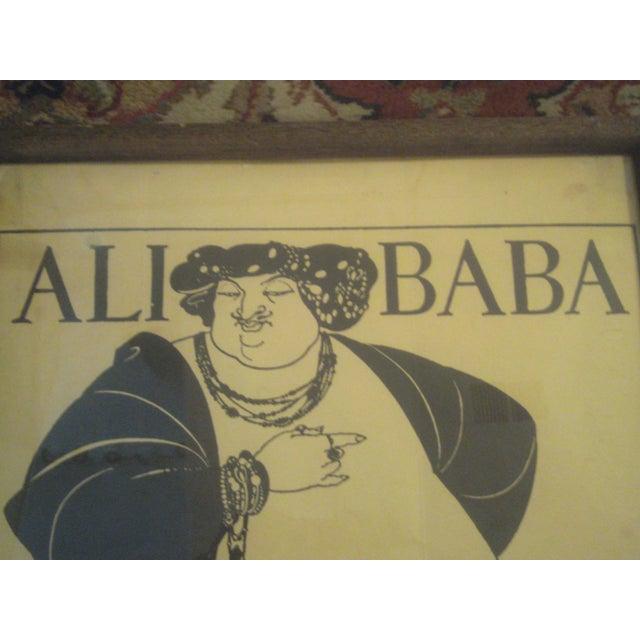 """Aubrey Beardsley """"Ali Baba"""" Print - Image 6 of 8"""