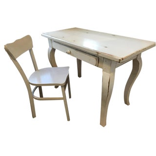 Shabby Chic Desk & Chair