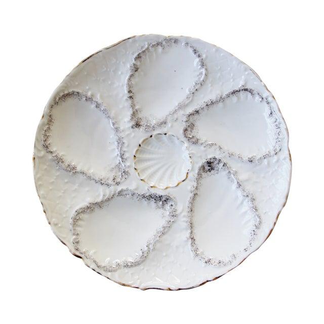 Vintage Majolica Oyster Plates - Set of 4 - Image 1 of 9