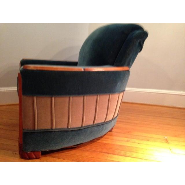 Art Deco Mohair Sofa & Armchair - A Pair - Image 7 of 11
