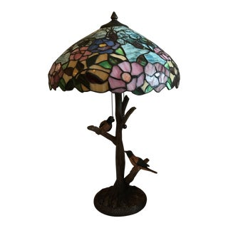 Floral Tiffany Style Lamp