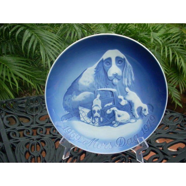 Image of B&G Copenhagen Mother's Day Plates - A Pair