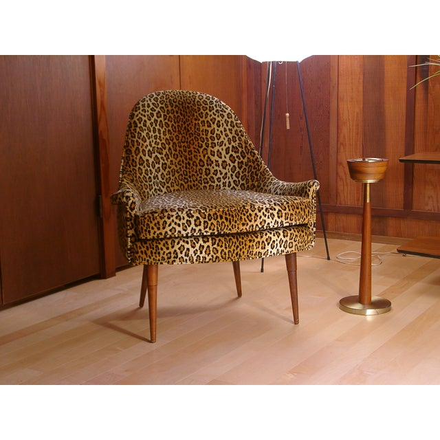 Sculptural Mid Century Danish Modern Chair - Image 8 of 9