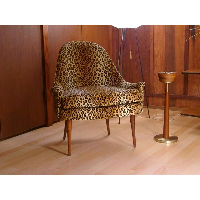 Image of Sculptural Mid Century Danish Modern Chair