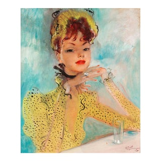 Femme à la Robe Jaune (Lady in a Yellow Dress)