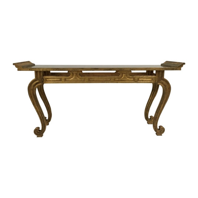 Mirrored Console Table - Image 1 of 6
