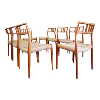J. L. Moller Model 79 Teak Dining Chairs - Set of 8