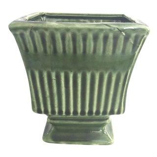 Vintage Green Cachepot