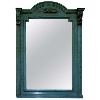 Antique Austrian Wood Mirror