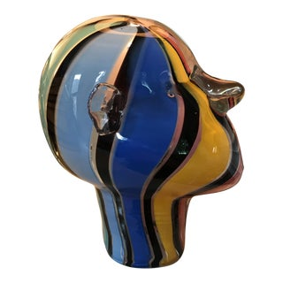Handblown Glass Mannequin Head