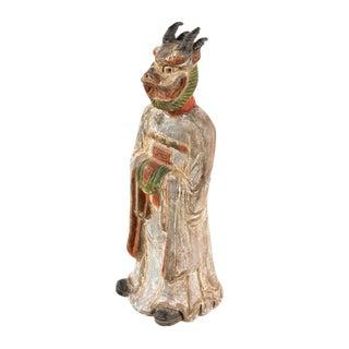 Antique Chinese Zodiac Dragon Figurine