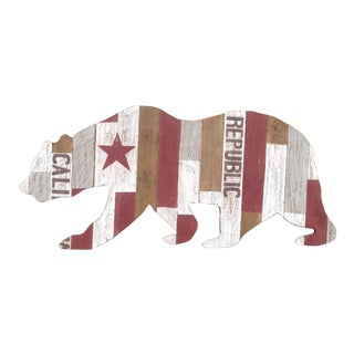 California Republic Bear Sign