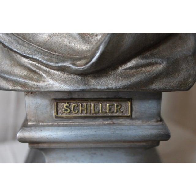 Spelter Bust of Schiller - Image 8 of 10