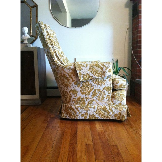 Floral Vintage Armchair - Image 4 of 6