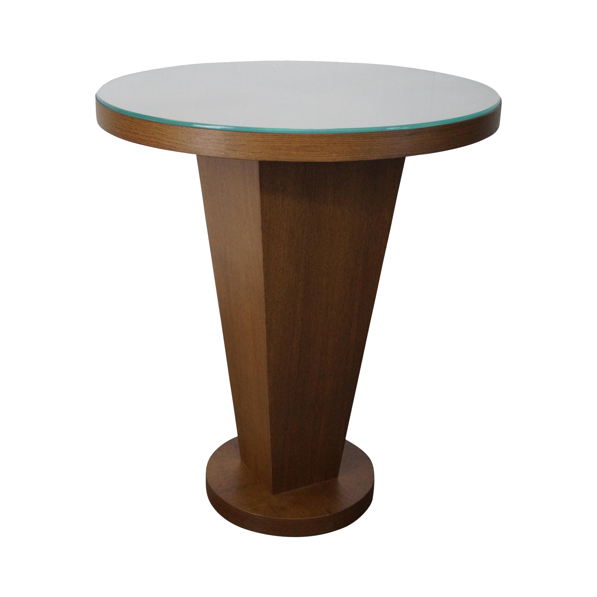 donghia deco style round pub table