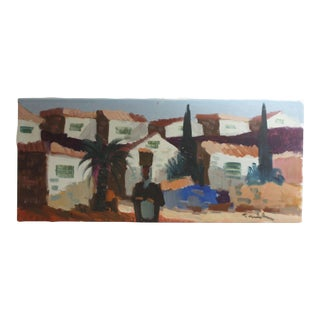 Spanish Impressionist Oil Painting