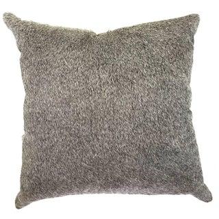 Brazilian Salt & Pepper Cowhide Pillow