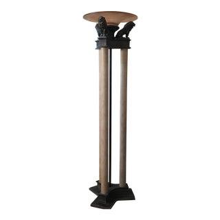 Columnar Torchiere Floor Lamp