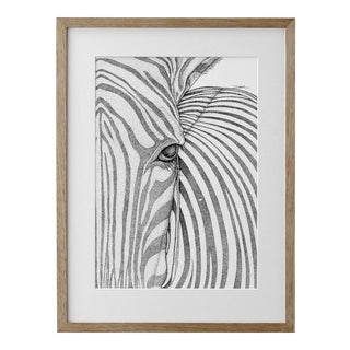 "Pointillism ""Zane the Zebra"" Artwork"