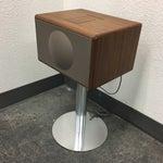 Image of Geneva Lab Walnut and Chrome Sound System