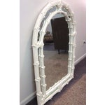 Image of White Painted Wall Mirror