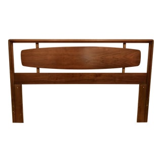 Lane Mid-Century Modern Walnut Headboard
