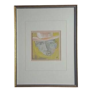 Babu Abstract Gentleman Drawing