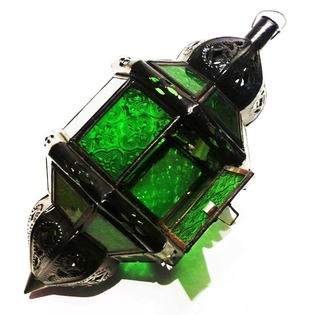 Moroccan Metal Amp Glass Pendant Lantern