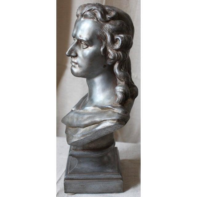 Spelter Bust of Schiller - Image 4 of 10