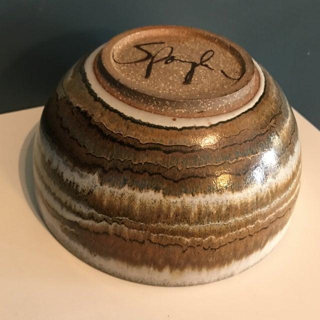 Signed Spangler Studio Pottery Bowl - Image 4 of 7