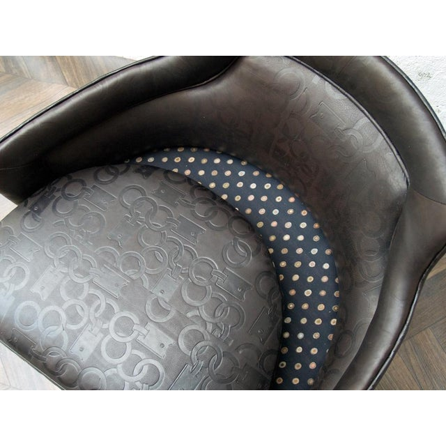Image of Gucci-Style Swivel Chair