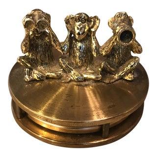 Brass Monkey See Hear Speak Magnifying Glass