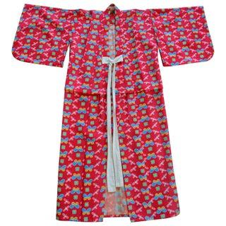 Child's Vintage Silk Kimono