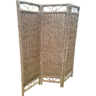 Wicker & Rattan Screen