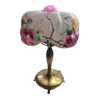 Anitque Pairpoint Butterfly Lamp