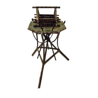 Folk Art Twig Game Table