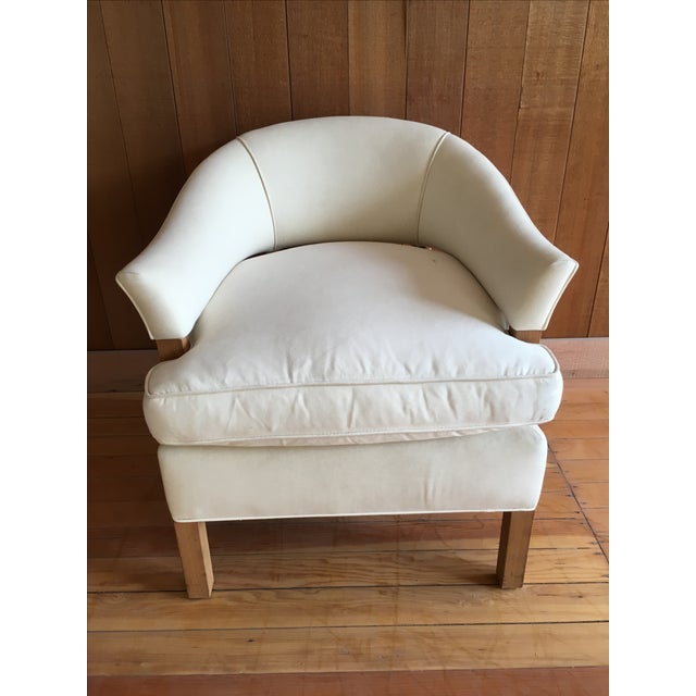 """Linden"" Chair + Custom Upholstery Service - Image 4 of 5"