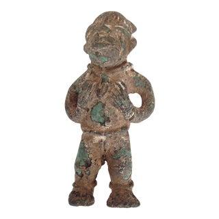Bronze Royal Congo Figure