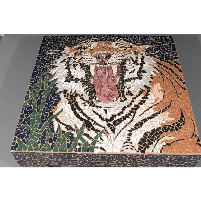 Mosaic Tiger Coffee Table - Image 7 of 7
