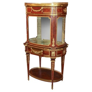 Exceptional Louis XVI Design Vitrine