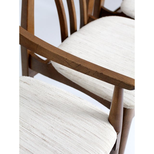 Mid-Century Danish Dining Chairs - Set of 6 - Image 9 of 11