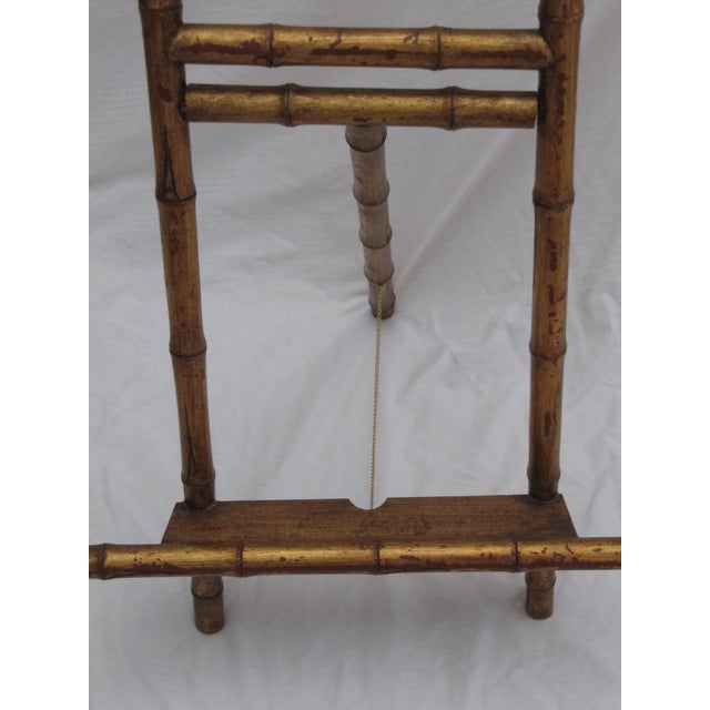 Transitional Large Florentine Style Bamboo Easel - Image 6 of 10